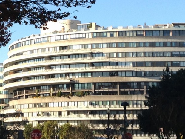 The infamous Watergate Hotel! :)