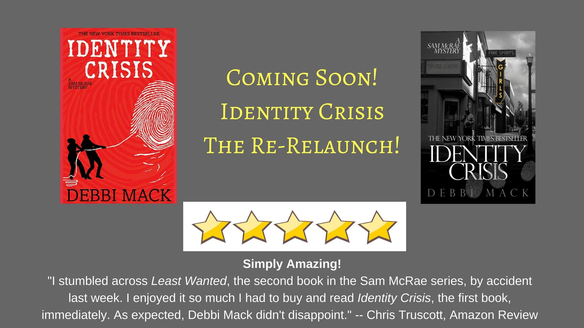 "S. 3, Ep. 9: Debbi Mack Reads Chapter Five Of ""Identity"