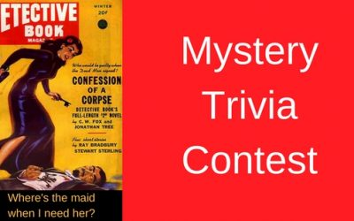 Do You Know Your Mystery Trivia?