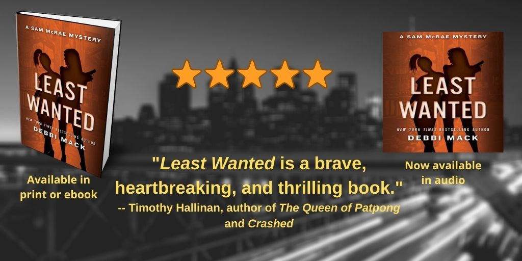 Another Excerpt from 'Least Wanted' and the Audio Giveaway